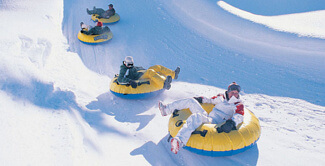 Snow Tubing in Straja